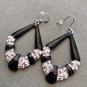 Gorgeous Dressy Earrings with Bling